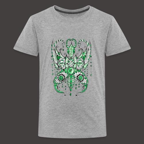 Papillon Lilou Vert - T-shirt Premium Ado