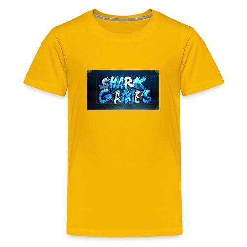 SharkGames - Maglietta Premium per ragazzi
