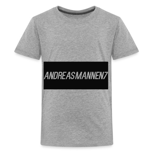 My t-shirt design - Premium T-skjorte for tenåringer