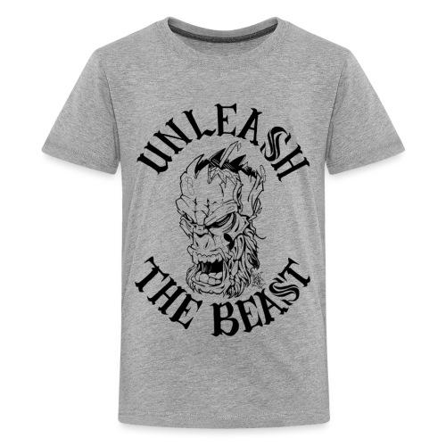 UNLEASH THE BEAST - Teenage Premium T-Shirt