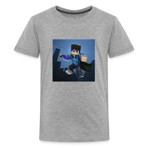 SpartaJamo's First shirt - Teenage Premium T-Shirt