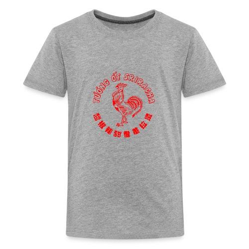 sriracha sauce merch - Teenage Premium T-Shirt