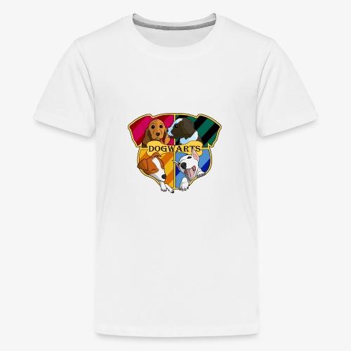 Dogwarts Logo - Teenage Premium T-Shirt