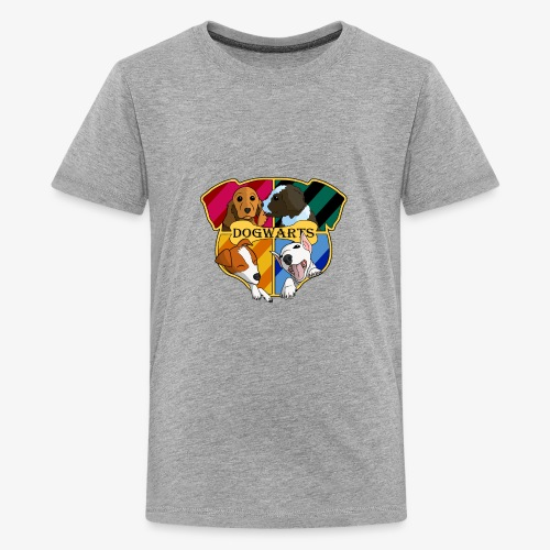 Dogwarts Logo - Teenage Premium T-Shirt