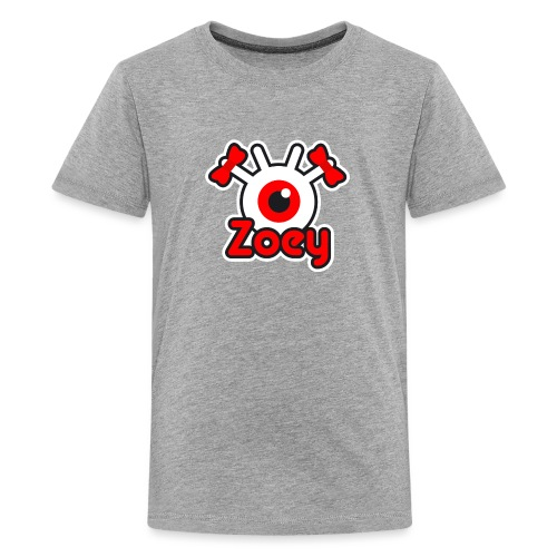 Zoey Label (Color) - T-shirt Premium Ado