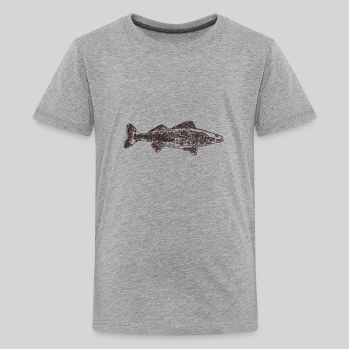Zander - Teinien premium t-paita