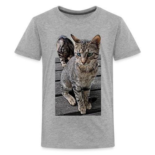 Katzenaugen - Teenager Premium T-Shirt