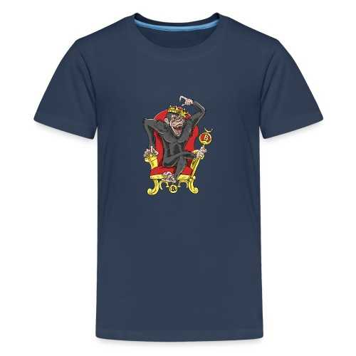 Bitcoin Monkey King - Beta Edition - Teenager Premium T-Shirt