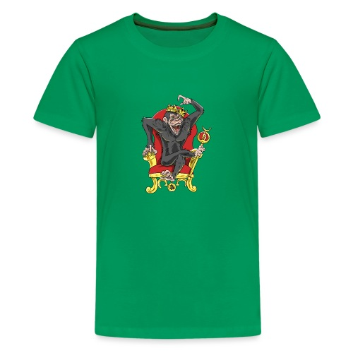 Bitcoin Monkey King - Beta Edition - Teenager Premium T-Shirt