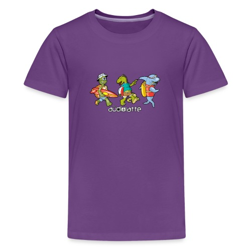 BEACH BUDDIES - Teenage Premium T-Shirt
