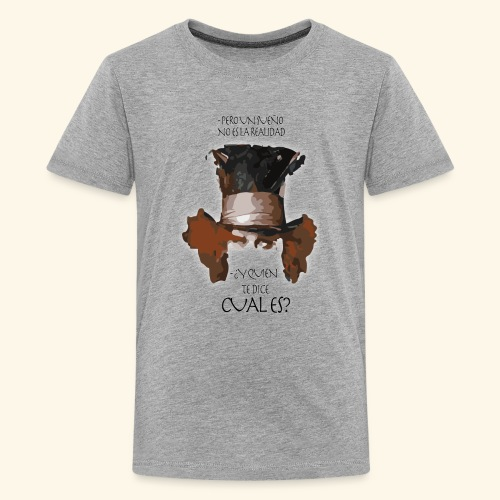 CUAL ES - Camiseta premium adolescente