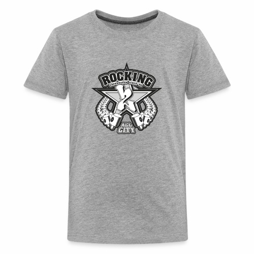 rocking copenhagen 2wear since 00 ver01 - Teenager premium T-shirt