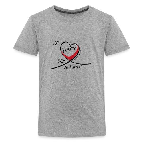 Ein Herz für Autisten - Teenager Premium T-Shirt