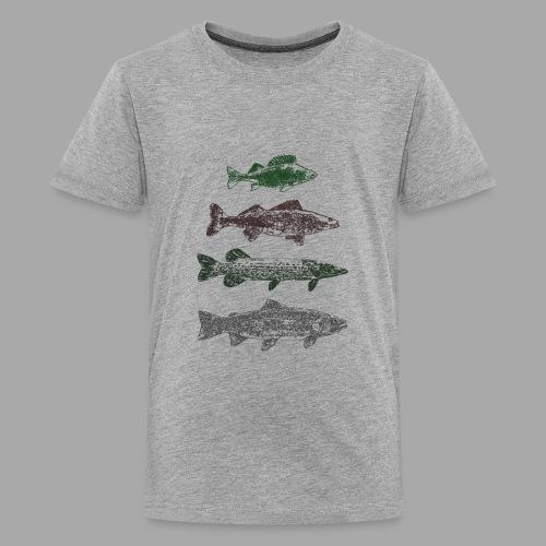 Lake - Teinien premium t-paita