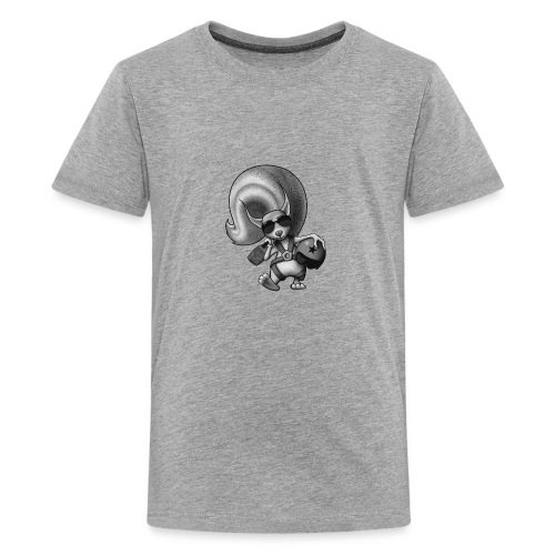 Squirrel Pilot - Teenager Premium T-Shirt