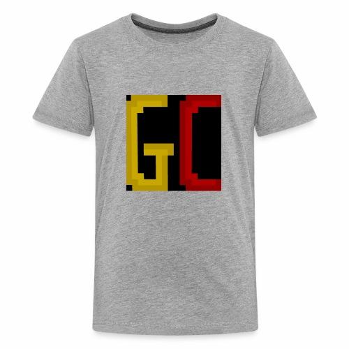 Gamecraft Logo - Teenage Premium T-Shirt