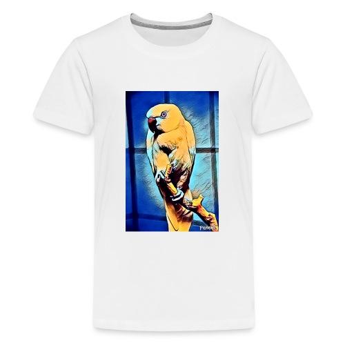 Bird in color - Teinien premium t-paita
