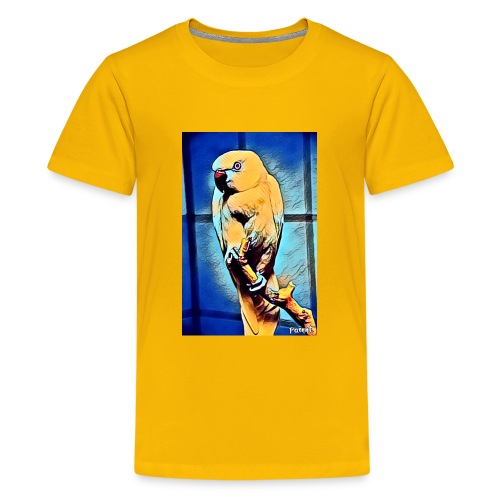Bird in color - Teinien premium t-paita