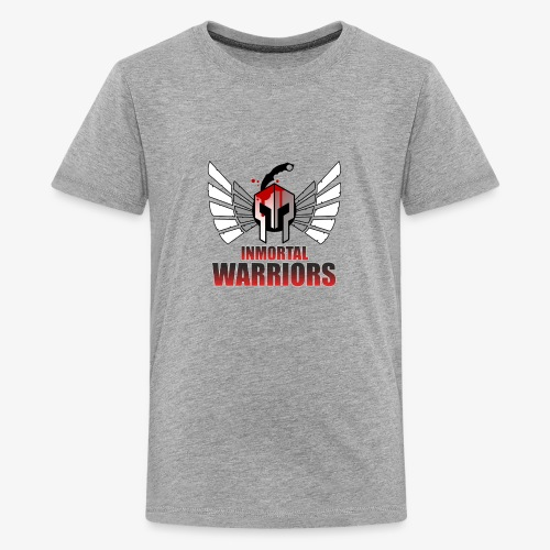 The Inmortal Warriors Team - Teenage Premium T-Shirt