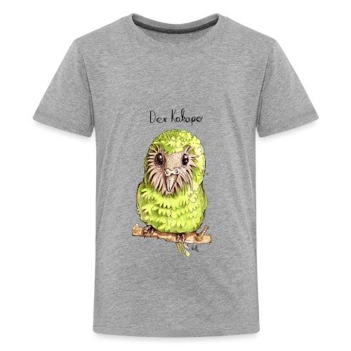 Kakapo - Teenager Premium T-Shirt