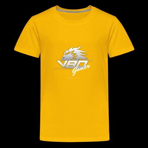 logo lionheartv80 chiaro trasparente - Maglietta Premium per ragazzi