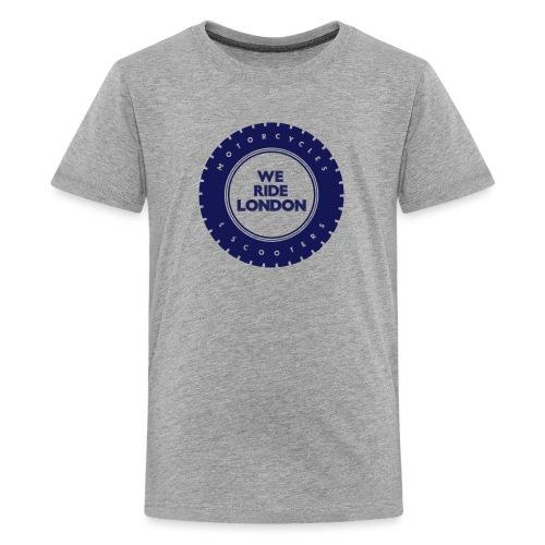 WRL Print Logo V3 1 - Teenage Premium T-Shirt