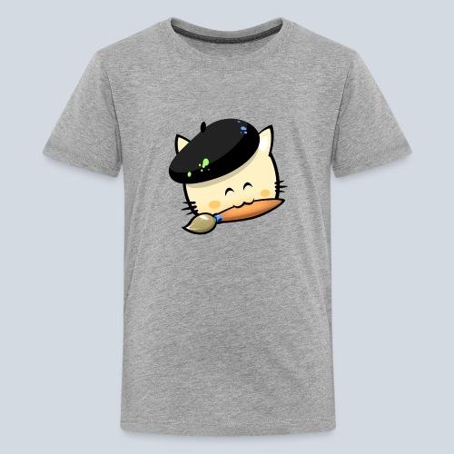 cat HD png - T-shirt Premium Ado
