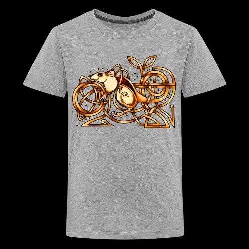 Celtic Rat - Teenage Premium T-Shirt