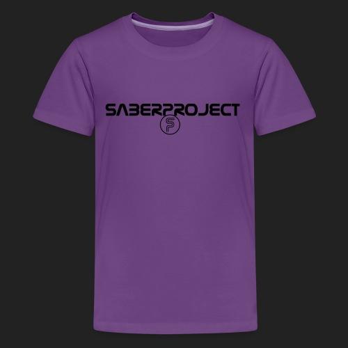 Saberproject Schriftzug - Teenager Premium T-Shirt