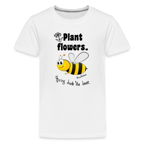 Bees8-2 Bringt die Bienen zurück! | Bookrebels - Teenage Premium T-Shirt