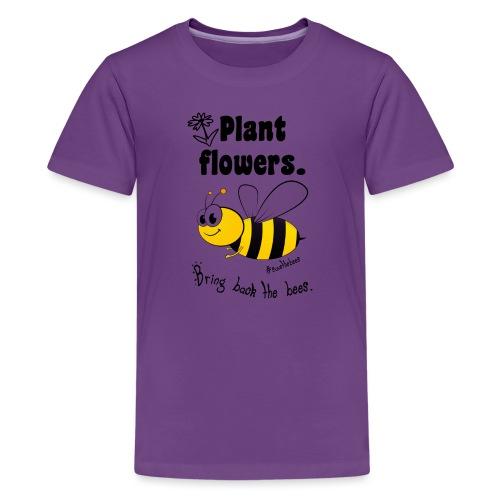 Bees8-2 Bringt die Bienen zurück!   Bookrebels - Teenage Premium T-Shirt