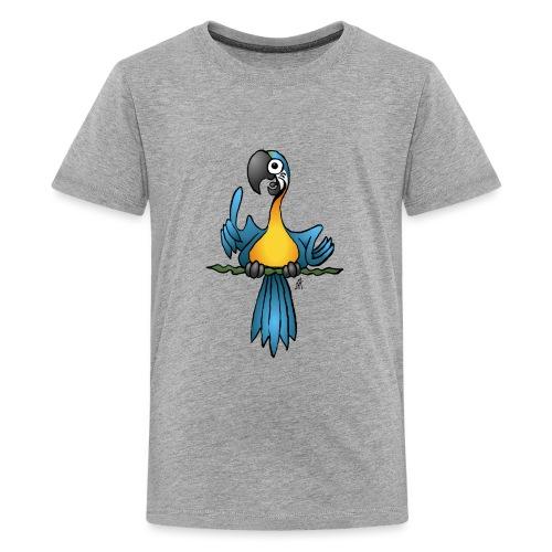 Talking parrot - Teenage Premium T-Shirt