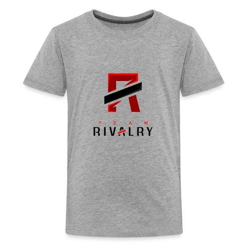 TeamRivalry black bar design - Teenager Premium T-Shirt