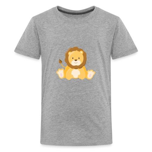 SAFARI Löwe - Teenager Premium T-Shirt