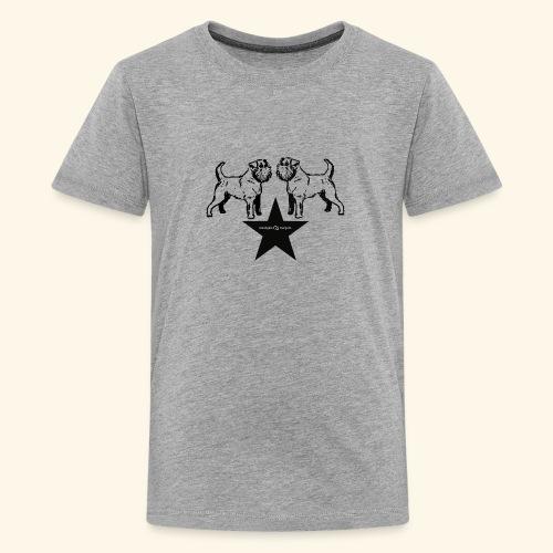 Brussels Griffon Logo - T-shirt Premium Ado