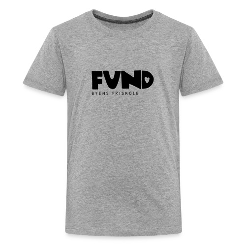 FUND Friskole - Teenager premium T-shirt
