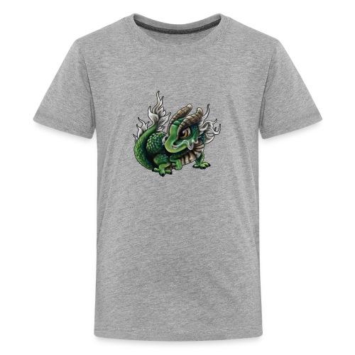 Chinesisches Drachenbaby - Teenager Premium T-Shirt