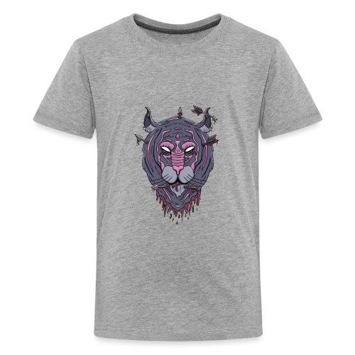 Galaxy tiger - Teenager Premium T-shirt