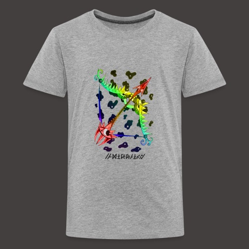 Sagittaire multi-color - T-shirt Premium Ado
