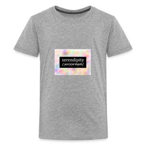 Serendipity - Teenage Premium T-Shirt