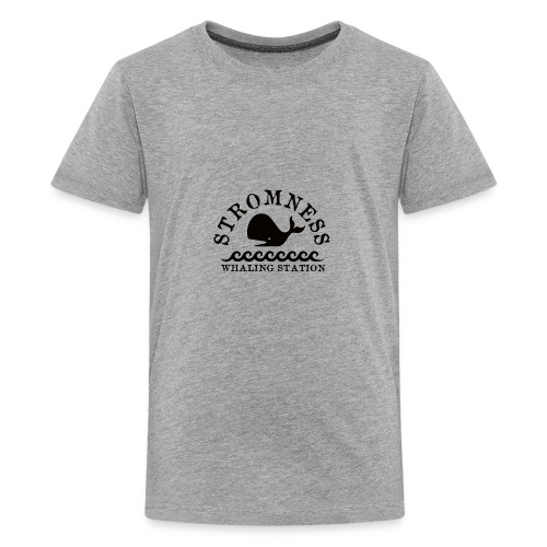 Sromness Whaling Station - Teenage Premium T-Shirt