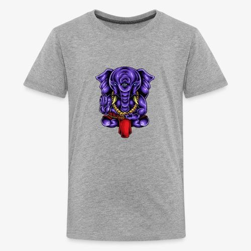 Gaṇesh - T-shirt Premium Ado