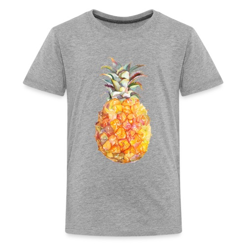 Piña tropical - Camiseta premium adolescente