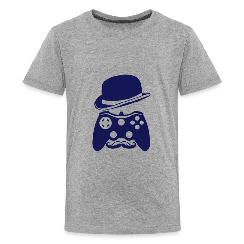 manette chapeau melon moustache personna - T-shirt Premium Ado