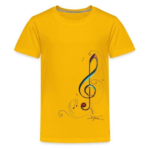Clef de sol - T-shirt Premium Ado
