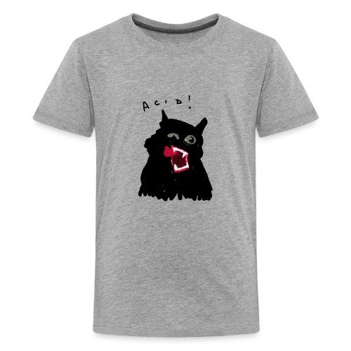 Black Cat - Camiseta premium adolescente