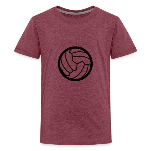 I <3 football! - T-shirt Premium Ado
