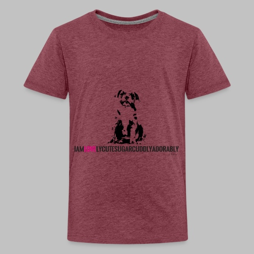 FRANZÖSISCHE BULLDOGE - WELPEN - LOVE - Teenager Premium T-Shirt