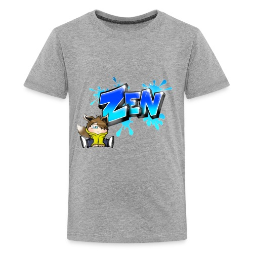 Graffiti Zen printable - Teenage Premium T-Shirt