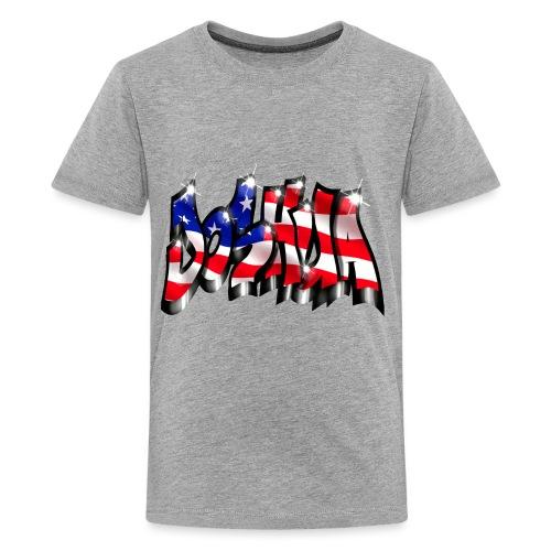GRAFFITI JOSHUA USA STYLE PRINTABLE ON EVERYTHING - T-shirt Premium Ado